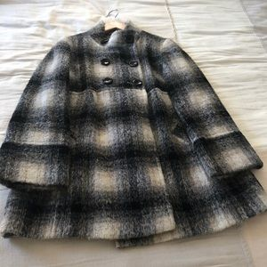 GERARD DAREL PABLO CHECKED COAT. $450